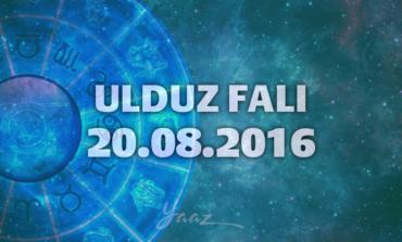 Ulduz Falı - 20.08.2016