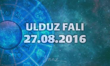 Ulduz Falı - 27.08.2016