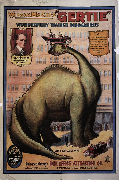 510px-Gertie_the_Dinosaur_poster