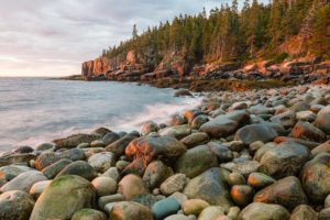 rocky-maine-shoreline-photo-acadia-national-park-boulder-beach-bill-swindaman
