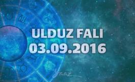 Ulduz Falı - 03.09.2016
