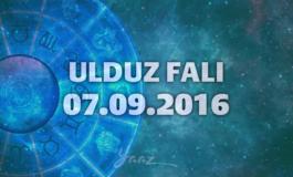 Ulduz Falı - 07.09.2016