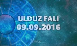 Ulduz Falı - 09.09.2016