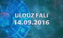 Ulduz Falı - 14.09.2016
