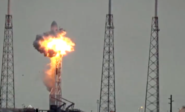 Facebookun ilk internet peykini daşıyacaq olan SpaceX roketipartladı