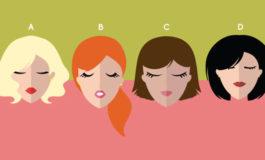 Saç rəngini seç, xarakterini öyrən - Test
