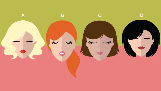 Saç rəngini seç, xarakterini öyrən – Test