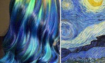 Saçlarınızı klassik rəsm əsərlərinə boyayın