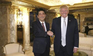 Ilk görüş baş tutdu | Shinzo Abe'dən Trump'ın ünvanına xoş sözlər