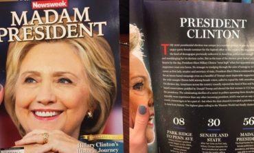Newsweek, 'Xanım Prezident' üzü ilə satışa çıxdı