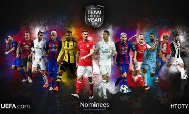 UEFA, 2016-cı ilin ən yaxşı 11'i üçün namizədlərinin adını açıqladı   Siyahı