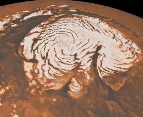 NASA: Marsda ABŞ-ın ən böyük gölü böyüklüyündə buz kütləsi tapıldı