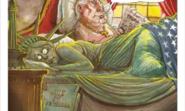 Tramp'ın qələbəsi karikaturaçıların gözü ilə | Qalereya