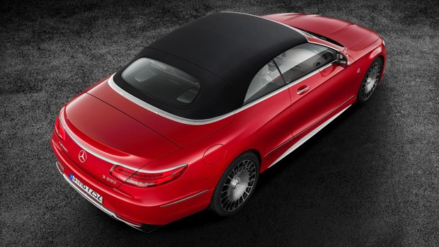Mercedes-Maybach S600 Cabrio yaaz.az photo