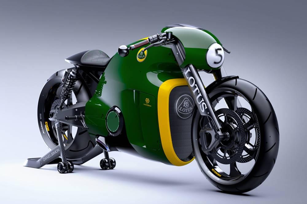 C-1 MOTORCYCLE / Lotus