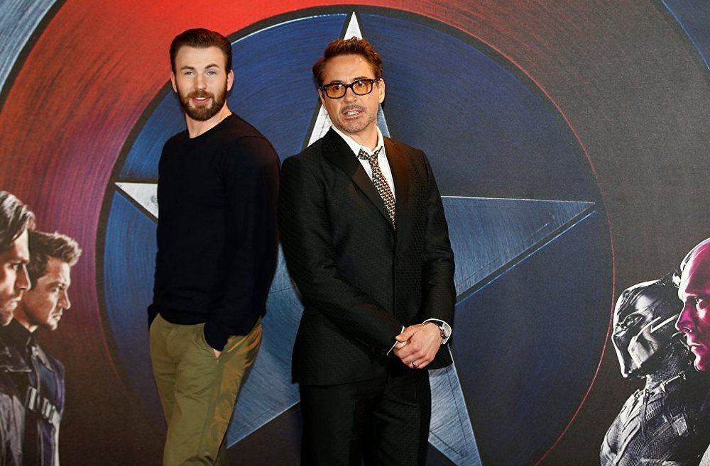 Kris Evans və Robert Downey Jr
