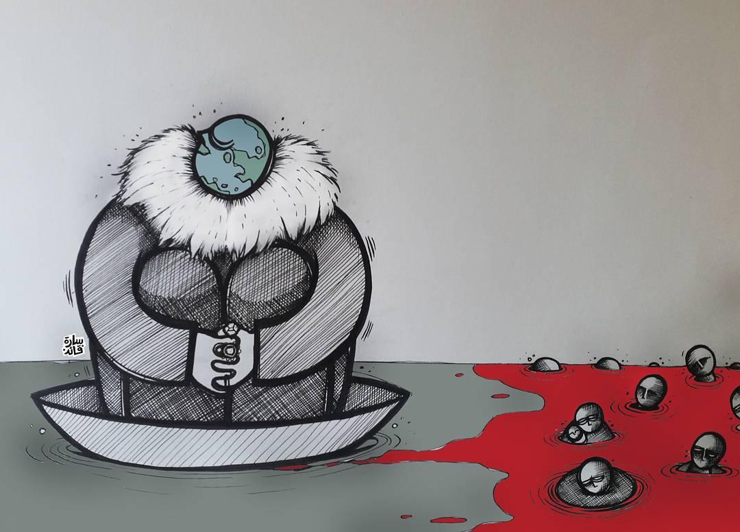 Karikatura: Sara Qaed