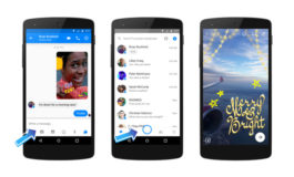 Facebook Messenger'ə yeni, güclü kamera effektləri əlavə edilir