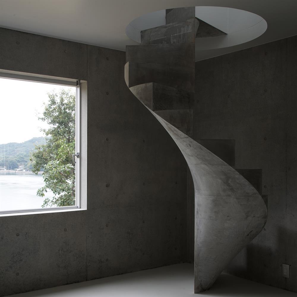 Bir sahil evi - Yaponiya