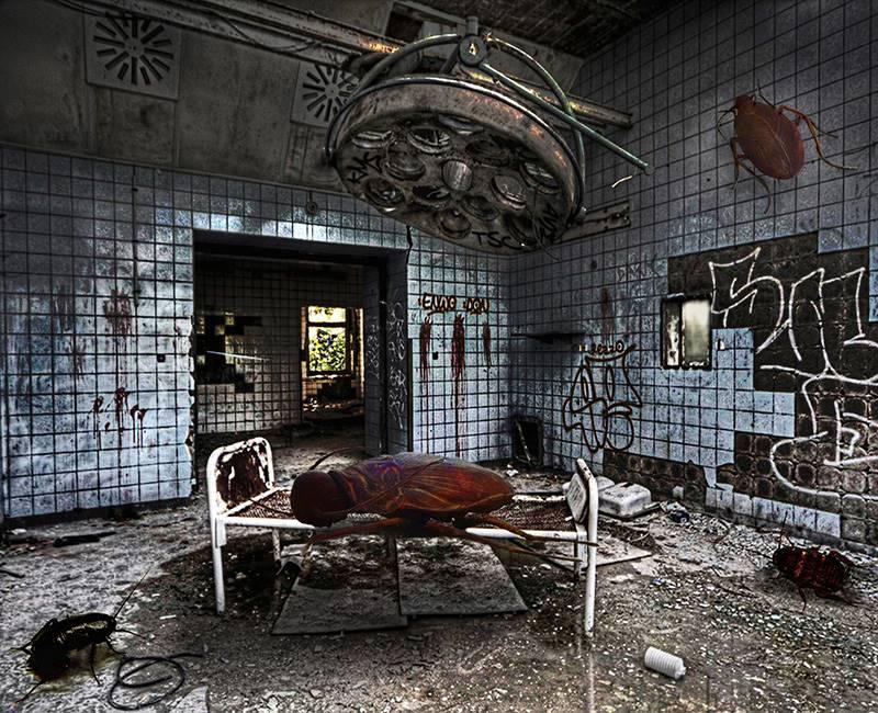 Beelitz-Heilsttten Hərbi Xəstəxanası / Almaniya