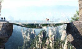 Çin'də görünməz körpü inşasına başlanılır