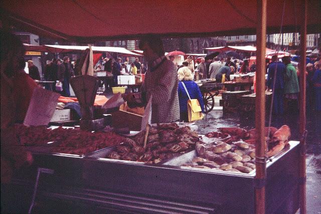 Bergen'də bir bazar, Norveç 1975