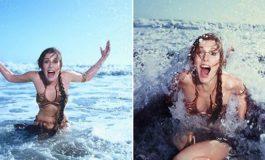 Carrie Fisher'in 1983-cü ilə aid 10 çimərlik fotoşəkli