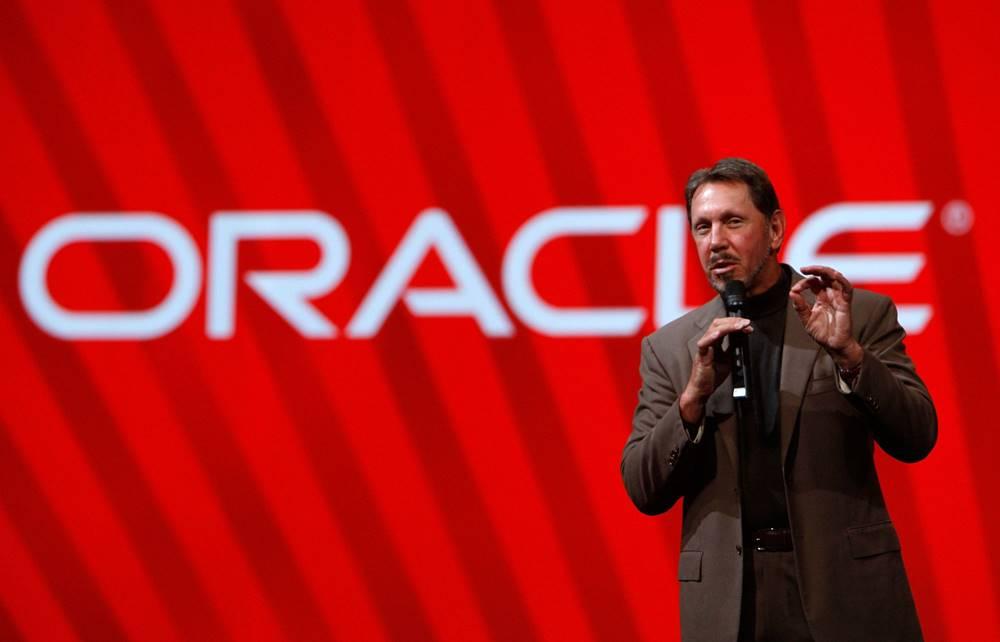 Larry Ellison - Oracle Qurucusu