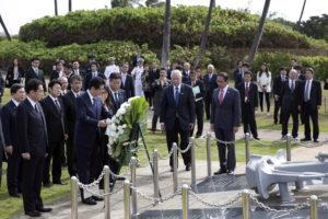 yaaz.az Şinzo Abedən tarixi Amerika ziyarəti