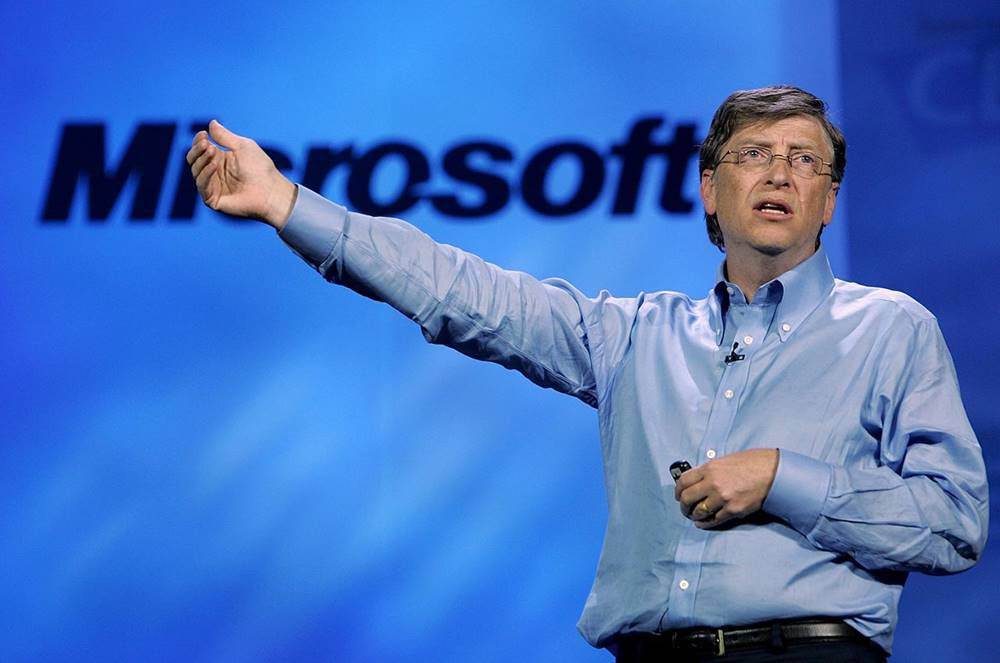 Bill Gates - Microsoftun Qurucusu