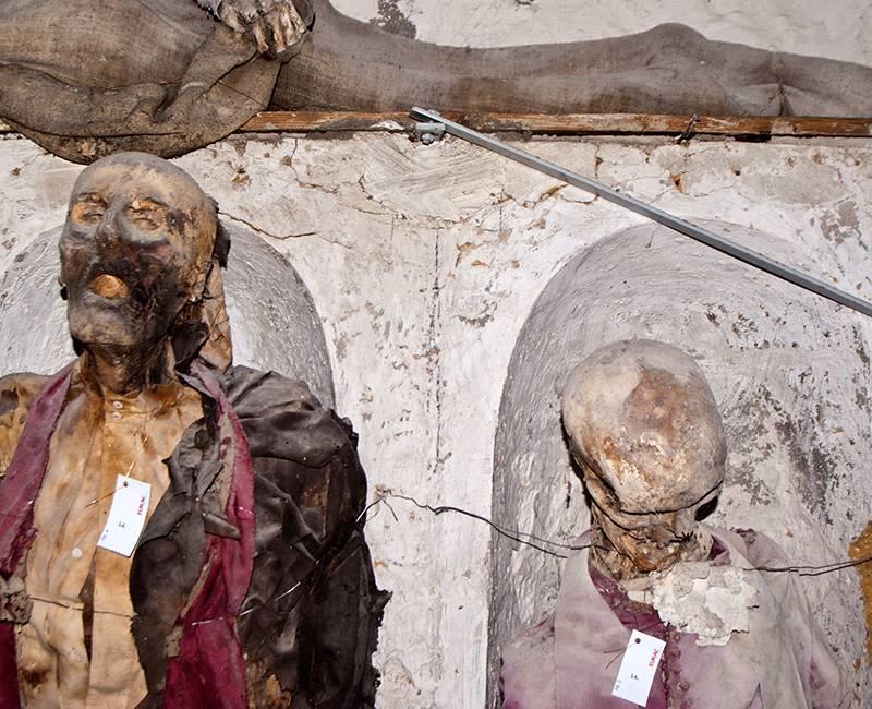 Capuchin Catacombs Palermo / İtaliya