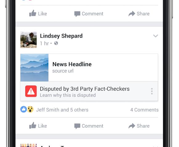 Facebook'un yeni funksiyası ilə saxta xəbərlər məlum olacaq