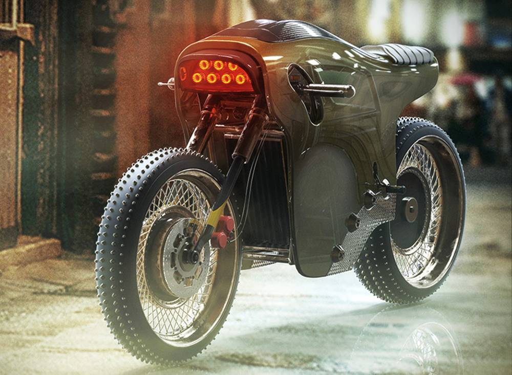Sinister ELECTRIC CAFE RACER / MICHAEL COHEN