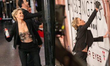 Jennifer Lawrence intiqamını belə aldı (Video)