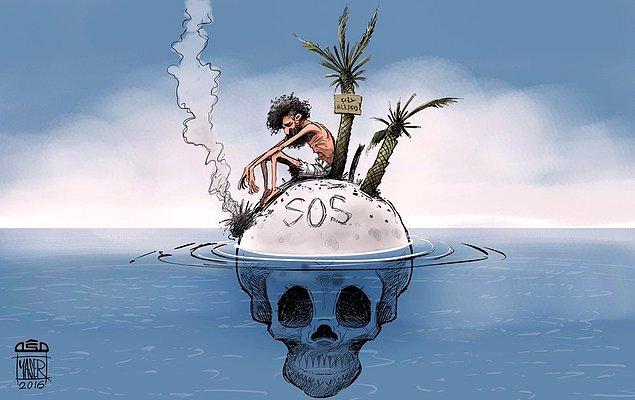 Karikatura: Yaser Ahmad