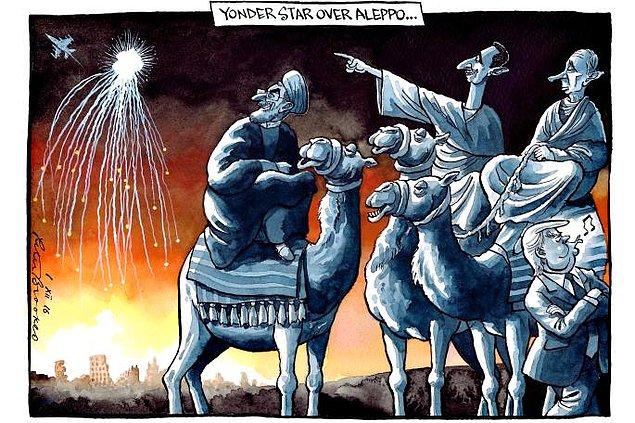 Karikatura: Peter Brookes
