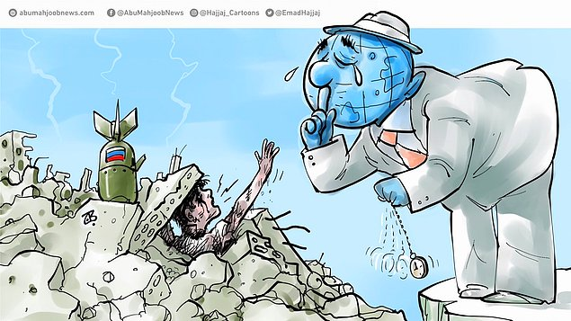 Karikatura: Emad Hajjaj