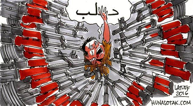 Karikatura: Carols Latuff