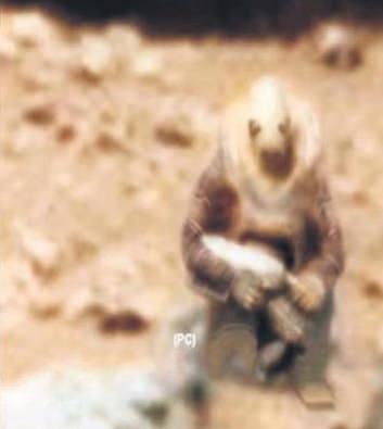 Marsda döyüşçü