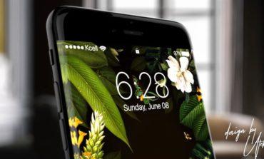 Qazaxıstanlı dizaynerdən iPhone 8-in yeni konsepsiyası