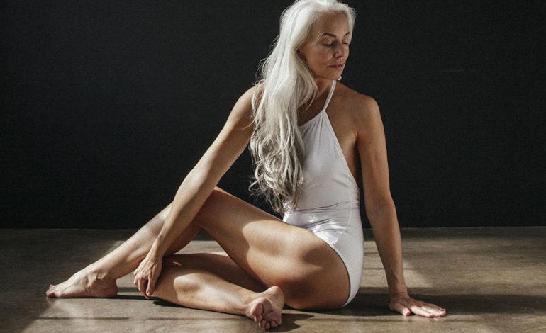 61 yaşlı qadın sübut edir ki modellik üçün gənc olmaq vacib deyil