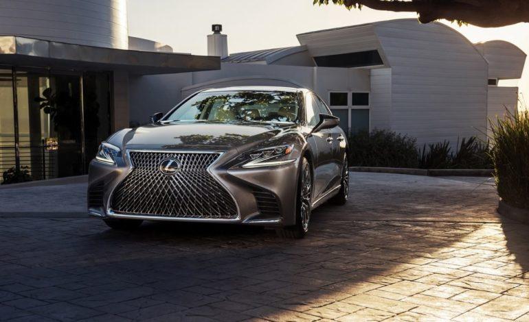 Lexus LS 2018 təqdim edildi | Qalereya