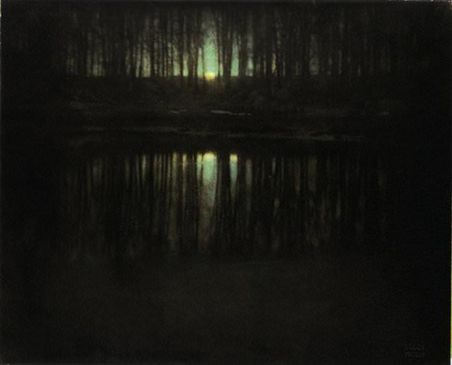 The Pond/Moonlight – Edward Steichen (1904)