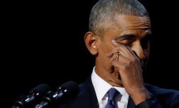 Barack Obama göz yaşlarına hakim ola bilmədi