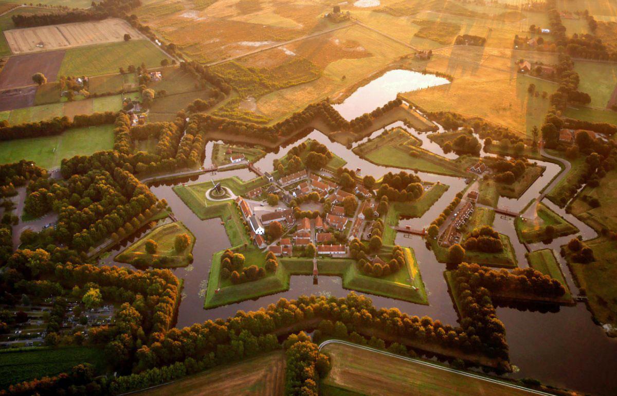 Bourtange Qalası, Bourtange, Hollandiya