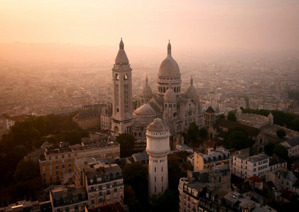 Sacre Coeur Kilsə, Paris, Fransa