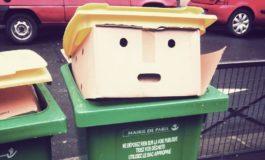 Donald Trump'a bənzədilən zibil qutusu internetdə trendə çevrildi