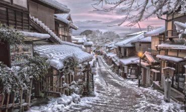 Paytaxtların paytaxtı Kioto-dan qış mənzərələri