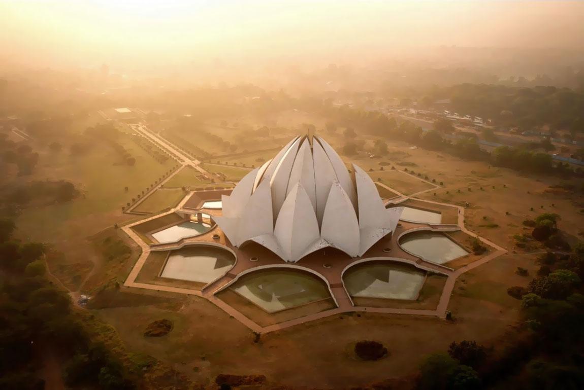 Lotus Məbədi, Yeni Dehli, Hindistan