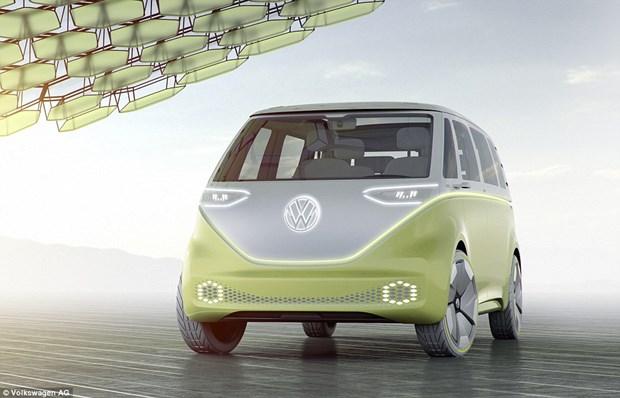 Volkswagen yeni Camper Volkswagen İ.D. Buzz yaaz.az